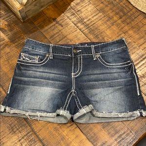 Jean shorts - size 9-10